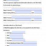 Free MassDOT RMV (Registry of Motor Vehicles) Auto Bill of Sale ...